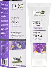 Düfte, Parfümerie und Kosmetik Mattierende Gesichtscreme für fettige und Mischhaut SPF 15 - ECO Laboratorie