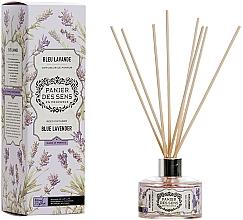 Düfte, Parfümerie und Kosmetik Aroma-Diffusor mit Duftholzstäbchen Blauer Lavendel - Panier Des Sens Lavender Reed Diffuser