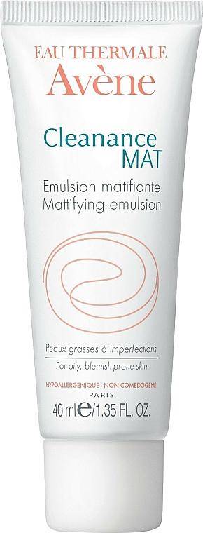 Mattierende Gesichtsemulsion für unreine Haut - Avene Anti-Seborrheiques Cleanance Emulsion