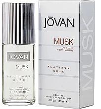 Düfte, Parfümerie und Kosmetik Jovan Platinum Musk For Men - Eau de Cologne