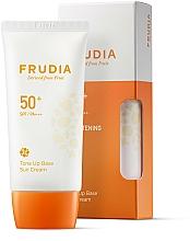 Düfte, Parfümerie und Kosmetik Sonnenschutzcreme-Base für das Gesicht SPF 50+ - Frudia Tone Up Base Sun Cream SPF50