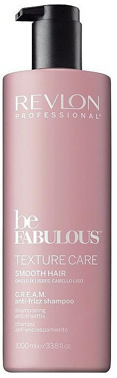 Glättende Haarspülung - Revlon Professional Be Fabulous Texture Care Smooth Shampoo — Bild N2