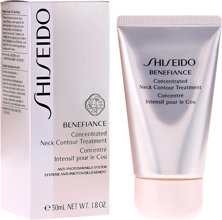 Konzentrierte Anti-Falten Hals- und Dekolleté-Creme - Shiseido Benefiance Concentrated Neck Contour Treatment