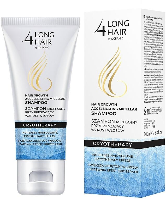 Haarwachstum stimulierendes Shampoo - Long4Lashes Krioterapia Micellar Shampoo