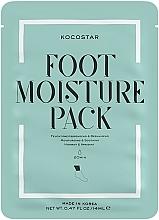 Düfte, Parfümerie und Kosmetik Fußmaske-Sockenpack mit Pflanzenextrakten für trockene, raue und müde Füße - Kocostar Foot Moisture Pack