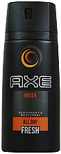 Düfte, Parfümerie und Kosmetik Deospray - Axe All Day Fresh Musk Deodorant