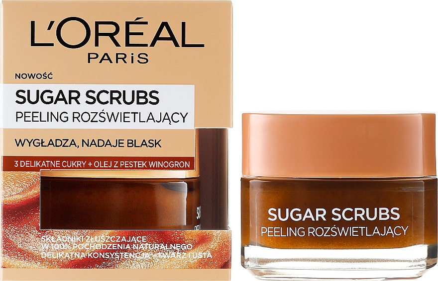 Zucker- Gesichtspeeling - L'Oreal Paris Sugar Scrubs