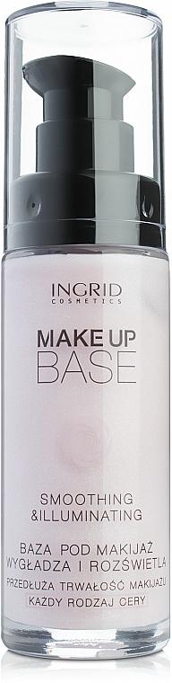 Glättende und aufhellende Make-up Base - Ingrid Cosmetics Make Up Base