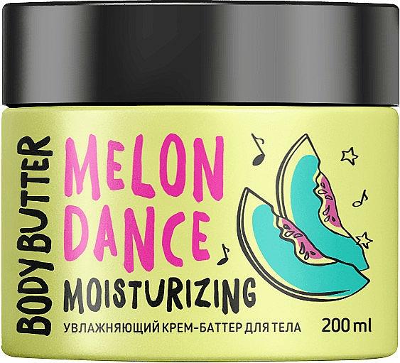 Feuchtigkeitsspendende Körpercreme-Butter mit Wassermelonenduft - MonoLove Bio Melon Dance Body Butter — Bild N1