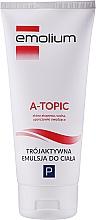Düfte, Parfümerie und Kosmetik Straffende Emulsion für den Körper - Emolium A-topic Emulsion