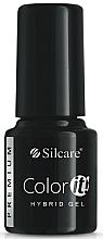 Düfte, Parfümerie und Kosmetik Gelnagellack - Silcare Color IT Premium Hybrid Gel