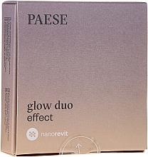 Düfte, Parfümerie und Kosmetik 2in1 Gesichtspuder und -Rouge - Paese Nanorevit Glow Duo Effect Powder And Blush