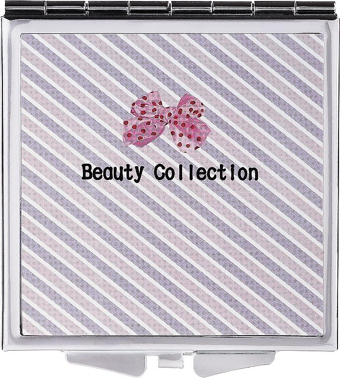 Kosmetischer Streifen-Taschenspiegel 85604 6 cm - Top Choice Beauty Collection Mirror