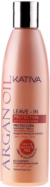 Revitalisierendes Haarkonzentrat mit Arganöl ohne Ausspülen - Kativa Argan Oil