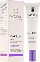 Düfte, Parfümerie und Kosmetik Gesichtsserum gegen Falten und zur Stärkung der Kapillaren - Iwostin Capillin Serum
