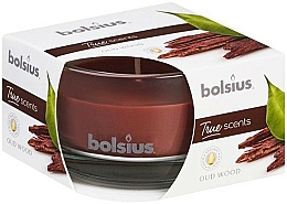 Düfte, Parfümerie und Kosmetik Duftkerze im Glas Agarbaum - Bolsius 50x80 mm