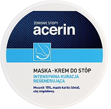 Düfte, Parfümerie und Kosmetik Regenerierende Maske-Creme für die Füße - Acerin Mask