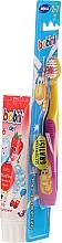 Düfte, Parfümerie und Kosmetik Mundpflegeset für Kinder - Bobini 2-7 (Zahnbürste + Zahnpasta 75ml)