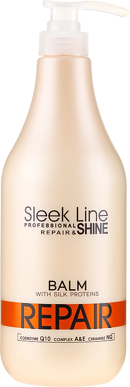 Haarspülung mit Seidenprotein - Sleek Line Repair Shine Balsam