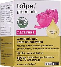Düfte, Parfümerie und Kosmetik Stärkende Gesichtscreme gegen Couperose - Tolpa Green Oils Cream