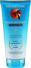 Düfte, Parfümerie und Kosmetik Feuchtigkeitsspendender After Sun Körpersorbet mit Aloe Vera und Hyaluronsäure - Kolastyna Sun Care