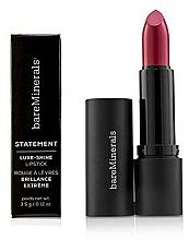 Düfte, Parfümerie und Kosmetik Langanhaltender und glänzender Lippenstift - Bare Escentuals Bare Minerals Statement Luxe Shine Lipstick