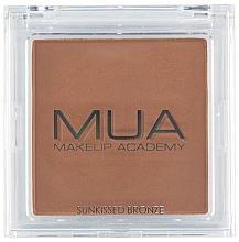 Düfte, Parfümerie und Kosmetik Gesichtsbronzer - MUA Bronzer Sunkissed Bronze