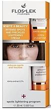 Düfte, Parfümerie und Kosmetik Gesichtscreme für Lokalpflege gegen Pigmentflecken - Floslek White & Beauty Intense Spots And Freckles Lightening Cream