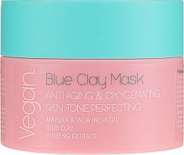 Düfte, Parfümerie und Kosmetik Anti-Aging Gesichtsmaske mit blauem Ton - Nacomi Blue Clay Mask Anti-Aging
