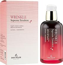 Düfte, Parfümerie und Kosmetik Pflegende Gesichtsemulsion mit Ginseng - The Skin House Wrinkle Supreme Emulsion