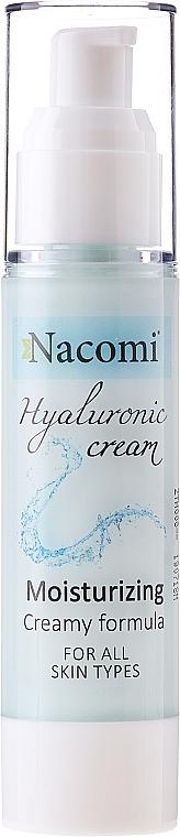 Gesichtscreme-Gel - Nacomi Hyaluronic Cream