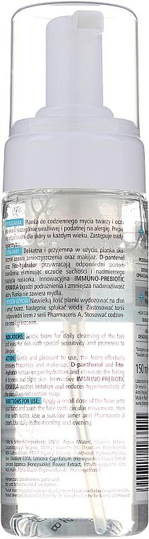 Sanfter Reinigungsschaum für Gesicht und Augen - Pharmaceris A Puri Sensilium Soothing Foam — Bild N2