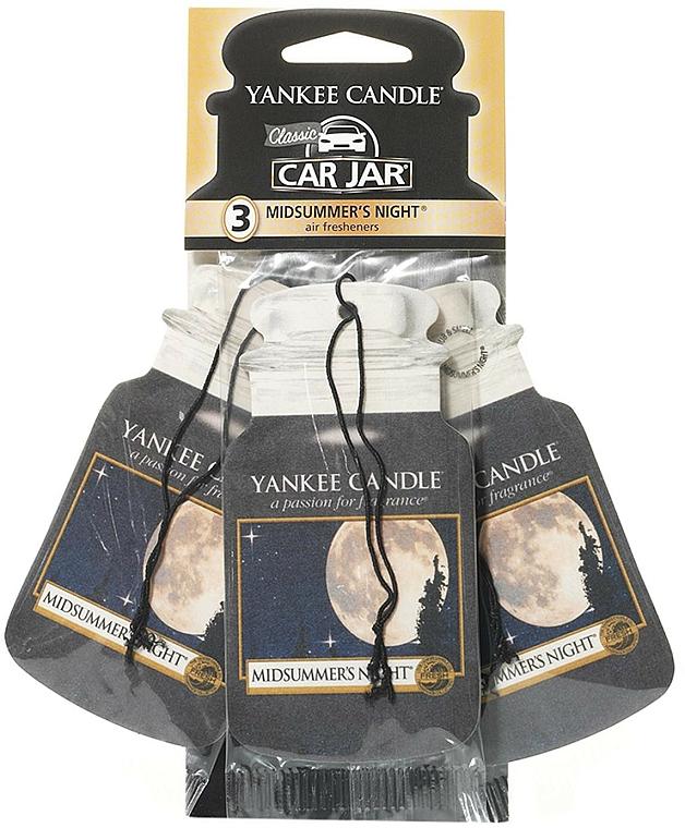 Auto-Lufterfrischer 3 St. - Yankee Candle Car Jar Midsummers Night