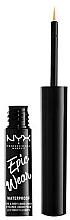 Düfte, Parfümerie und Kosmetik Flüssiger Eyeliner - NYX Epic Wear Liquid Liner