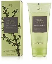 Düfte, Parfümerie und Kosmetik Maurer & Wirtz 4711 Acqua Colonia Myrrh & Kumquat - Harmonisierendes Duschgel Myrrhe & Kumquat