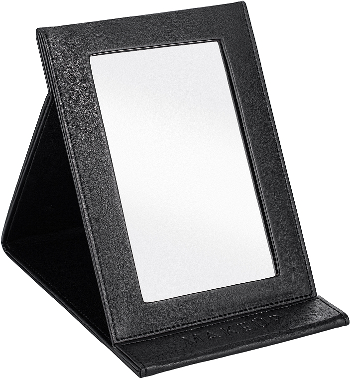 Klappbarer kosmetischer Taschenspiegel schwarz - MakeUp Tabletop Cosmetic Mirror Black