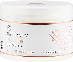 Düfte, Parfümerie und Kosmetik Körperbutter mit Karamell, Zitrone und Vanille - Naturativ Cuddling Body Butter