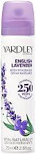 Düfte, Parfümerie und Kosmetik Yardley English Lavender Refreshing Body Spray - Erfrischendes Körperspray
