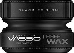 Düfte, Parfümerie und Kosmetik Stylingwachs mit starkem Halt und mattem Finish - Vasso Professional Hair Styling Wax Gravity Black Edition