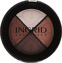 Düfte, Parfümerie und Kosmetik Kompakte Lidschattenpalette - Ingrid Cosmetics Smoky Eyes Eye Shadows