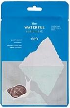 Düfte, Parfümerie und Kosmetik Feuchtigkeitsspendende und beruhigende Gesichtsmaske mit Schneckenschleim - Skin79 The Waterful Snail Mask