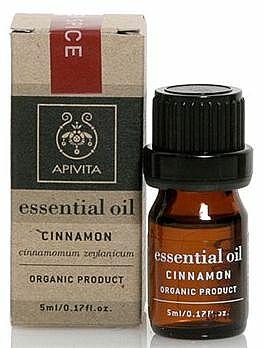 Ätherisches Öl Zimt - Apivita Aromatherapy Organic Cinnamon Oil  — Bild N1