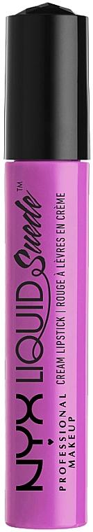 Flüssiger Lippenstift - NYX Professional Makeup Liquid Suede Cream Lipstick