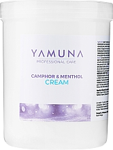 Düfte, Parfümerie und Kosmetik Beruhigende Körpermassagecreme mit Kampfer und Menthol - Yamuna Camphoros Mentolos Cream