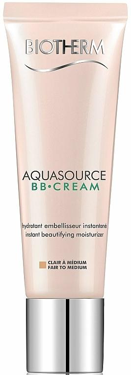 Feuchtigkeitsspendende BB Gesichtscreme LSF 15 - Biotherm Aquasource BB Cream SPF 15 — Bild N1