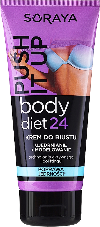 Modellierende und straffende Brustcreme - Soraya Body Diet 24 Bust cream