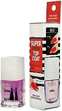 Düfte, Parfümerie und Kosmetik Nagelüberlack mit super Glanz-Effekt - Delia Super Gloss Top Coat