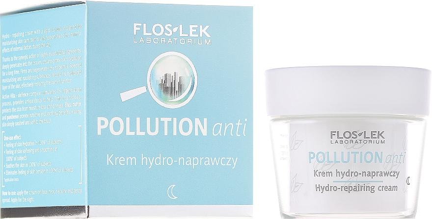 Regenerierende und feuchtigkeitsspendende Nachtcreme für das Gesicht - Floslek Pollution Anti Hydro-repairing Cream — Bild N1