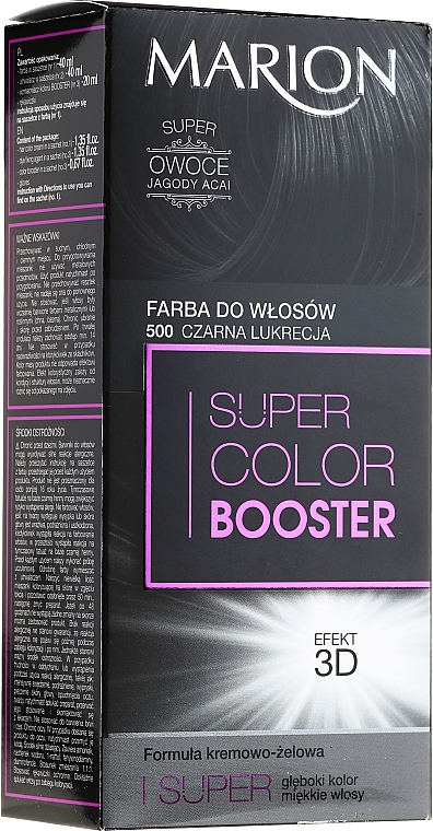 Haarfarbe - Marion Super Color Booster