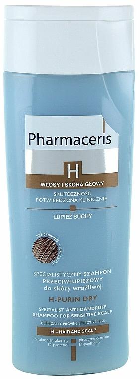 Spezielles Anti-Schuppen Shampoo für empfindliche Kopfhaut - Pharmaceris H-Purin Dry Specialist Anti-Dandruff Shampoo For Sensitive Scalp
